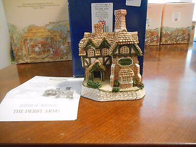 David Winter-The Derby Arms--Box And COA