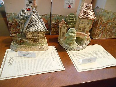 David Winter-Gatekeepers & Tollkeepers Cottage-Box And COA