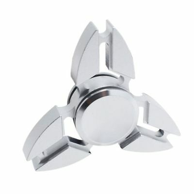 Tri Fidget Spinner Aluminum Finger Hand Spinner Kids Adults Stress Relief Toy