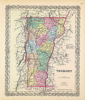VERMONT 161 old maps state PANORAMIC genealogy lots HISTORY DVD