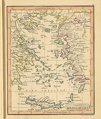 WORLD Atlas 1835 Thomas Library old antique maps ancient geography DVD A21