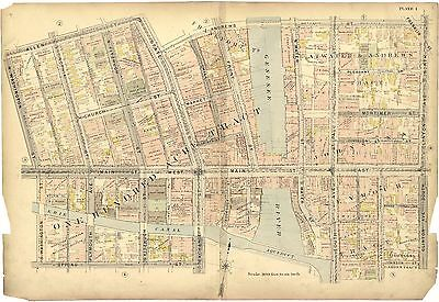 CITY ROCHESTER NEW YORK NY 1900 atlas plat maps GENEALOGY history DVD T11