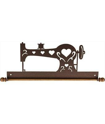 "Ackfeld 22"" Sewing Machine Copper Metal Wall Craft Quilt Textile Holder Hanger"