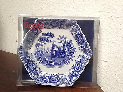 "RARE Spode Blue Room Sutherland Collection 9.1/2"" Octagonal Plate ""Girl at Well"""