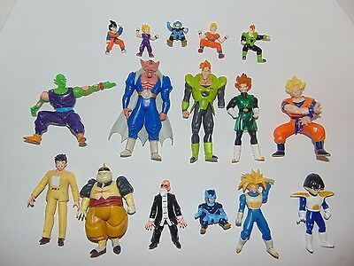 Dragon Ball Z Action Figures Lot of 16
