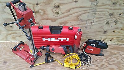 Hilti DD-150 Core Drill With Stand and DD -VP-U Vacuum w/ 4inch Bit