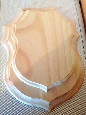 Wooden Display Plaque - Large ( One )