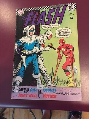 The Flash 166 Captain Cold Flash Dc See Pics