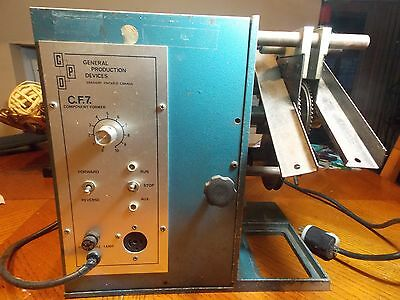 General Products Devices Cf-7 Component Former