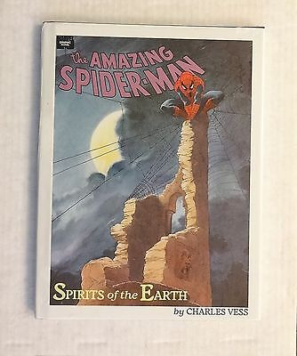 Marvel, The Amazing Spider-Man, Spirits of the Earth Hardcover, Charles Vess