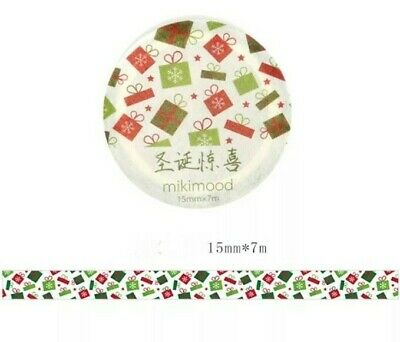 Japan Washi Tape Christmas collections New Series 7m MT133