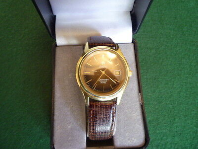 Omega Brown Face Vintage Seamaster Cosmic 2000 Automatic