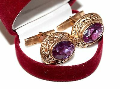 Rare Beautiful Cufflinks Silver 875 USSR Antique Awesome vintage gift!