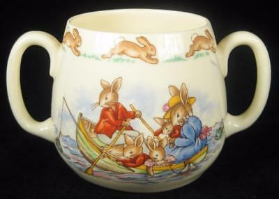Royal Doulton Bunnykins 'Fishing Trip' Loving Cup/Mug 1959-75