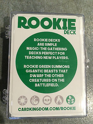 Magic the Gathering Rookie/Starter Deck - Green - Learning Product