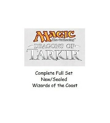 Dragons of Takir Complete Set  Magic the Gathering Sealed Complete Set Wizards