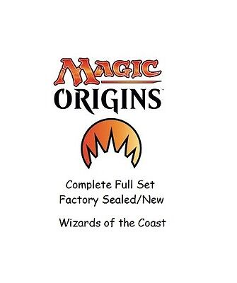 Magic Origins Complete Set  Magic the Gathering Sealed Complete Set Wizards