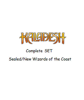 Kaladesh Complete Set  Magic the Gathering Sealed Complete Set Wizards (Aus)