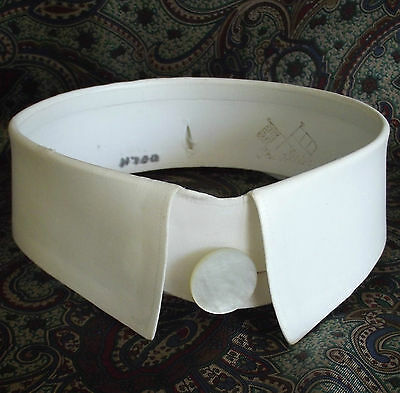 Vintage day collar size 14.5 stiff starched Allies Britain France Detachable WW1