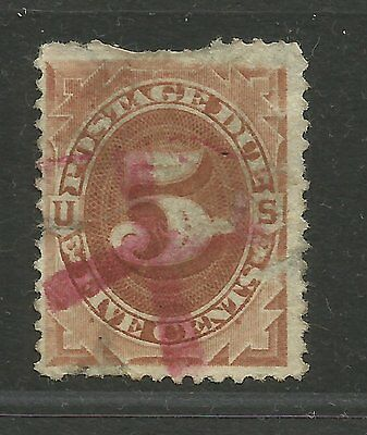 USA USED STAMPS scott J4 POSTAGE DUE 446 R516