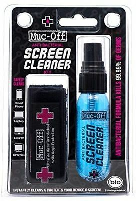 Muc-Off Rescue Kit With 32ml High Performance Screen Cleaner And Microfibre For