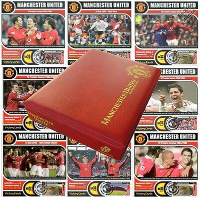 CRISTIANO RONALDO Manchester United Football Club Victory Card Stamp Album