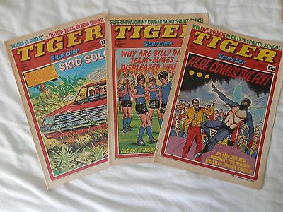 TIGER and SCORCHER 3 issues (1980)