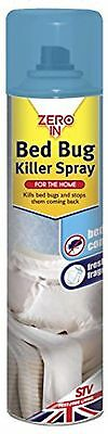 1 x Bed Bug Killer Spray Insect Carpet Mattress Spray Eliminate Bugs 200ml