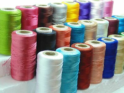 New 24 x Art Silk Rayon Machine Embroidery Thread Spools Assorted Colors