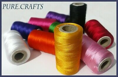 New 10 Spools Set Sewing Machine Silk Embroidery Threads BROTHER JANOME GUTERMAN
