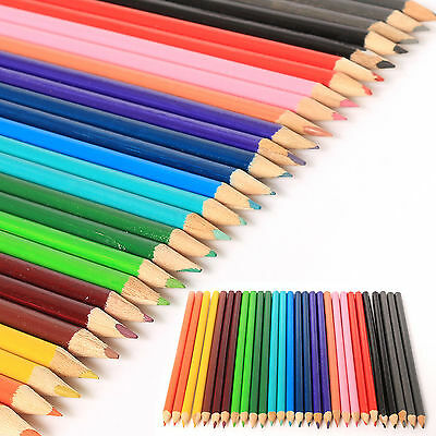 COLOURING PENCILS PACK 30 x LARGE SET FOR SCHOOL CLASS CHILDREN CHEAP PRICE UK