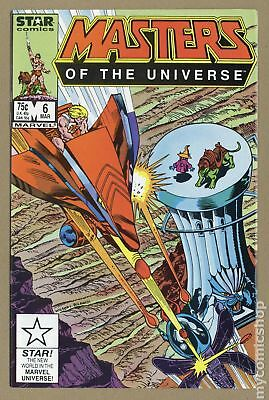 Masters of the Universe (1986 2nd Series Marvel/Star Comics) #6 VF- 7.5