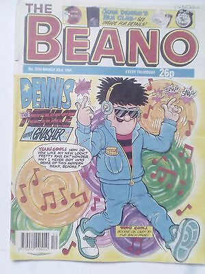 THE BEANO - Issues 2540, 2541, 2543, 2544 & 2455 - March 23rd - April 27th 1991