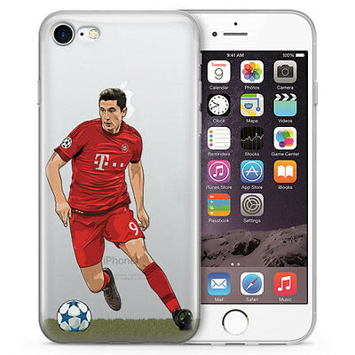 The Body Robert Lewandowski Iphone Case For All Iphones Hand Drawn