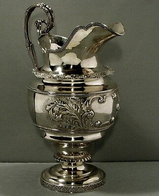 Frederick Marquand Sterling Pitcher    1825   SAVANNAH, GA.            48 OUNCES