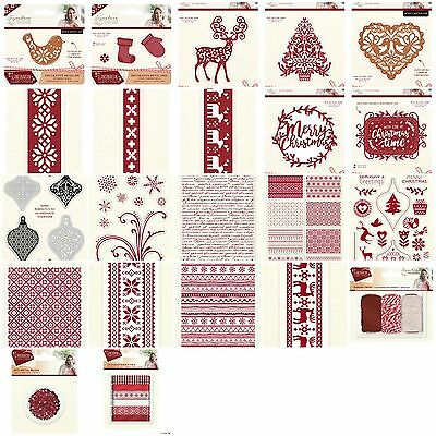 SARA DAVIES CUTE CHRISTMAS BUILD A SNOWMAN CUT//EMBOSS DIES REDUCED!!!!