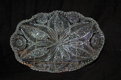 ABP Cut Glass Bowl in Mint Condition