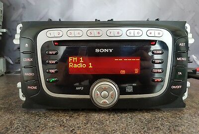 ford sony mp3 car radio cd does not work mk4 mondeo. Black Bedroom Furniture Sets. Home Design Ideas