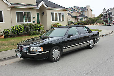 1998 Cadillac DeVille Cloth Hard Top, leather seats 1998 Cadillac Deville