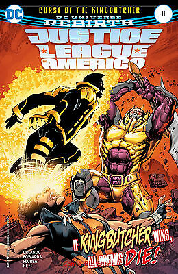 Justice League Of America #11 (2017) 1St Printing Dc Universe Rebirth