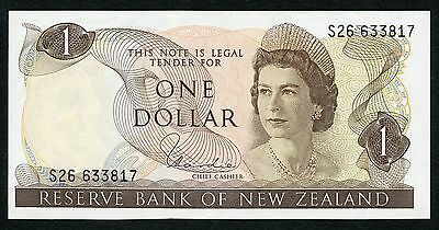 New Zealand 1 Dollar P-163d XF Condition !!!