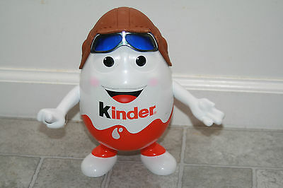 "KINDER Surprise Egg Aviator Pilot Man 10"" Tall Promo Store Display"