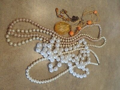 Damaged Jewelry Lot For Parts Repairs or crafting W3
