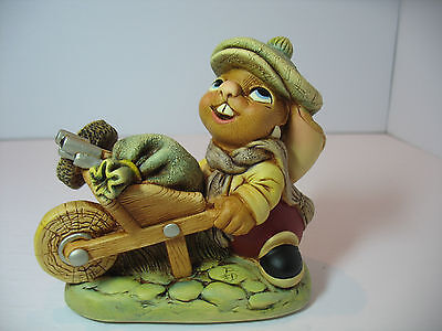 NEW Pendelfin Sweep the  Chimney sweeper Figurine rabbit Bunny w/ Box
