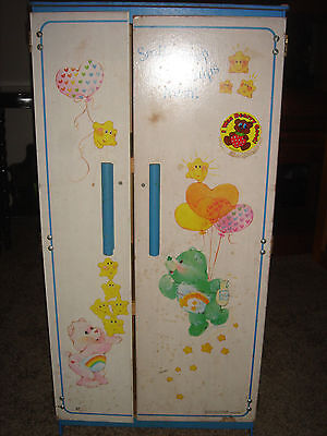 RARE Vintage Care Bears full sized furniture child's room toy storage 3' tall
