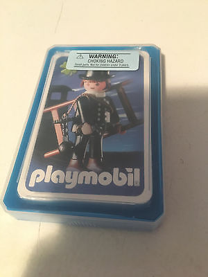 Playmobil Playing Cards - Match Game - 2004 - Chimney Sweep - New - Sealed