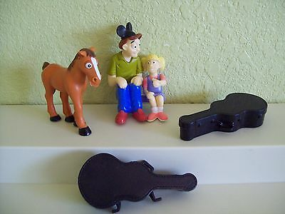 Chevron Car Accessory LOT Horse Guitar Case Dad & Daughter Disney Hat