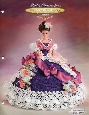 Rebecca, Annie's Glorious Gowns Old South Collection crochet patterns