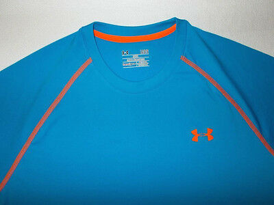 Men's Under Armour Heat Gear Loose Tech Short Sleeve T-shirt-Size L (1228539