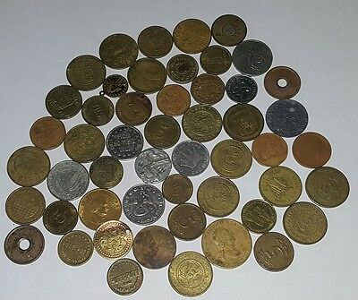 Lot of Tokens Transit Casino Arcade Bus Fair No Reserve Coins